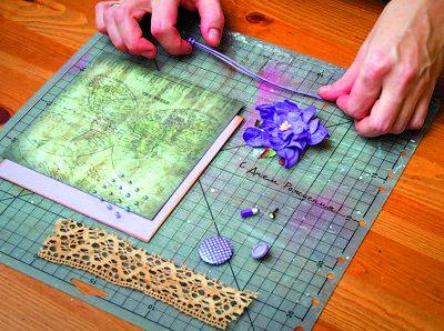материалы для изготовления открытки ручной работы