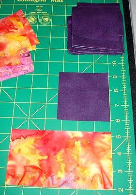 квадраты для изготовления своими руками лоскутного блока летящие гуси
