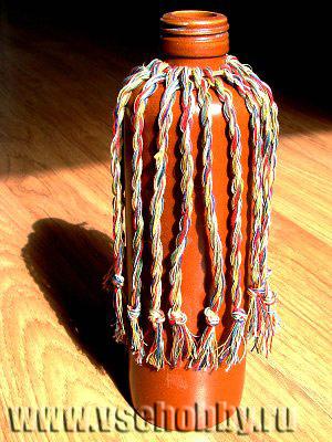 декоративная ваза из бутылки своими руками творчество с детьми