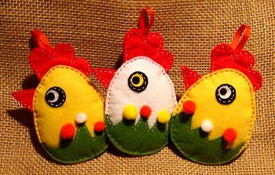 пасхальные сувениры цыплята яйца из флиса своими руками