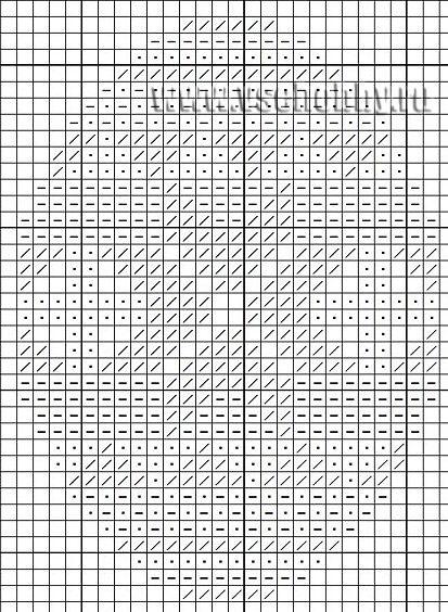 яйцо схема вышивки крестом