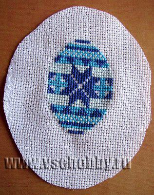 пасхальный сувенир яйцо-писанка