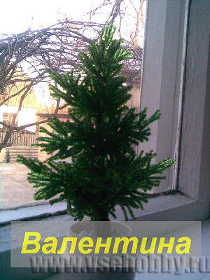 Канзаши своими руками елка