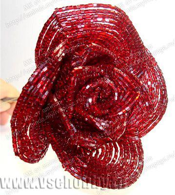 Пятый круг лепестков розы из