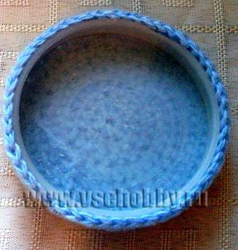 Крышка для сувенира ручной работы готова