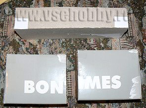 картонные секции комодика ручной работы готовы