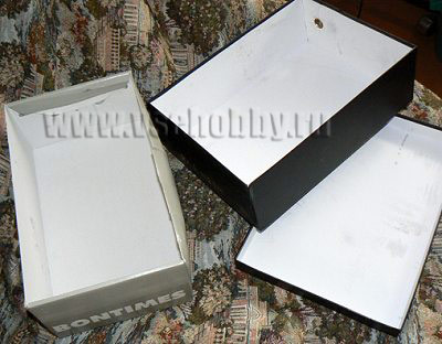 коробки материал для изготовления своими руками комода