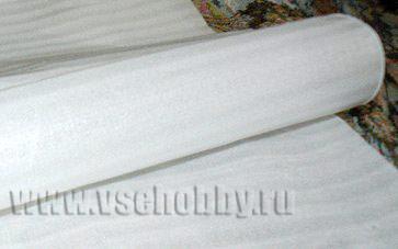синтетический материал от упаковки техники утеплитель пенка