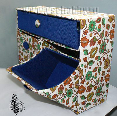 Комод из обувных коробок