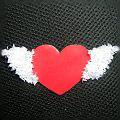 сердечко в технике торцевания из бумаги