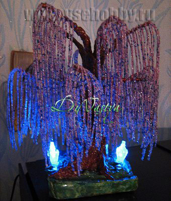 Дерево Счастья Эйва из бисера