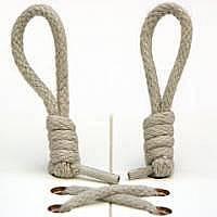 Узлы завязанные на концах шнурков