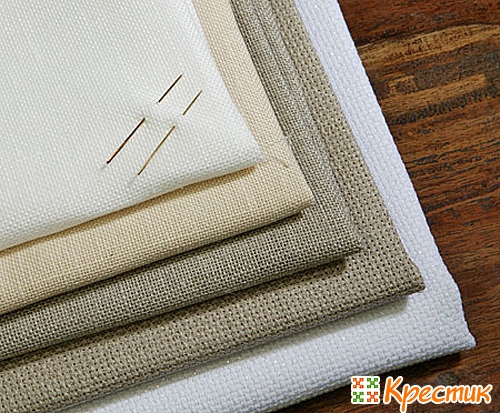 Ткань для вышивки крестом не канва