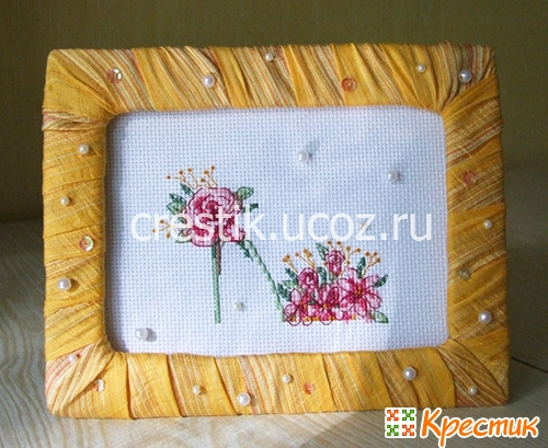 Онлайн рамка для вышивки