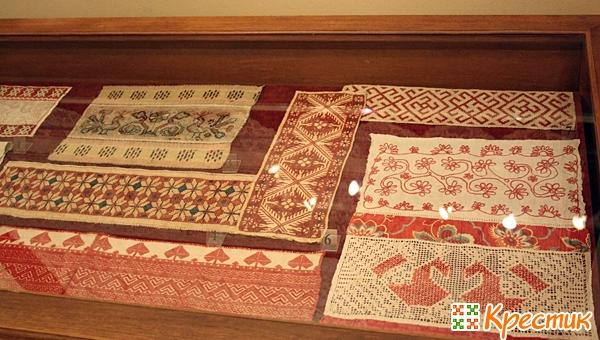 История вышивки крестом в России