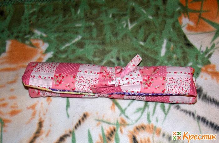 Чехол для крючков из ткани
