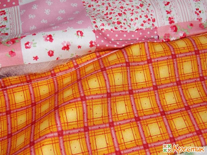 Чехол для спиц из ткани