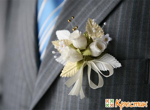 Бутонерка жениха