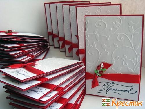 Свадебные приглашения-открытки