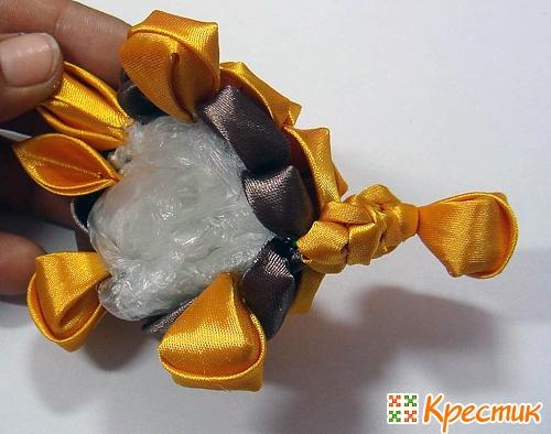 Как сделать игрушку черепашку