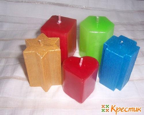 Формы для свечей своими руками