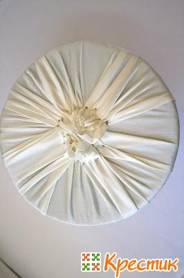 Букет из ткани мастер класс
