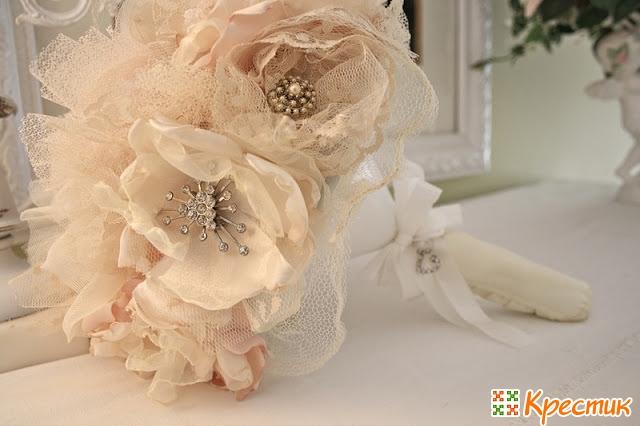 Фальш букет невесты своими руками