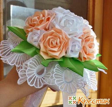 Свадебные цветы своими руками фото
