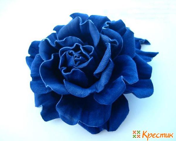 Розы из кожи своими руками как сделать