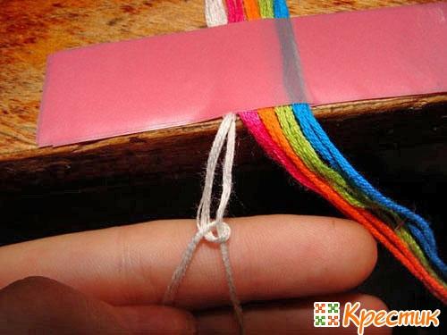 Плетение фенечек из мулине