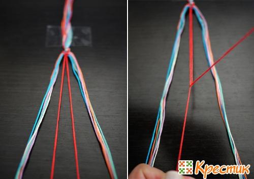 Плетение фенечек описание