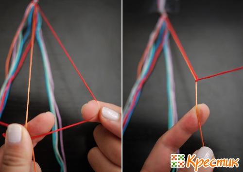 Плетение фенечек пошаговые фото