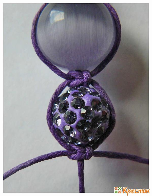 Двойной браслет шамбала