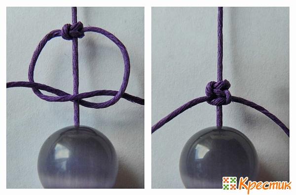 Как делать браслеты шамбала