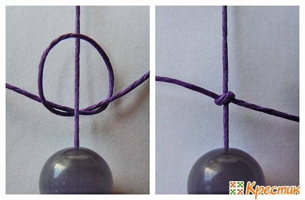Плетение браслетов шамбала