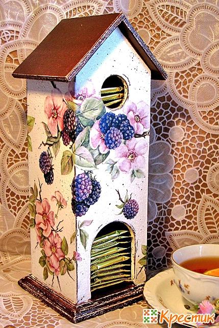 Чайный домик своими руками