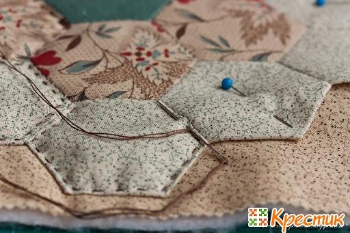 Ьно простегать лоскутное одеяло мастер класс фото #5