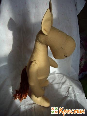 Детская лошадка мастер класс
