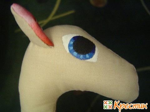 Сувенир лошадка тильда