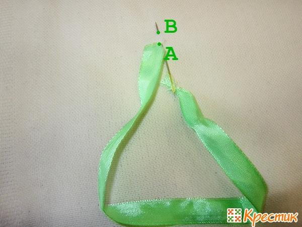 Уроки вышивки лентами для