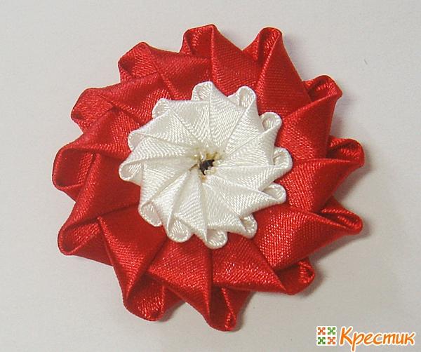 Цветы канзаши фото