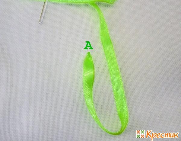 Как делать стежок цепочку