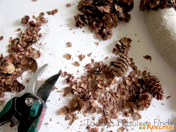 Поделки из природного материала шишки