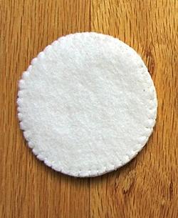 Как сшить снеговика из ткани