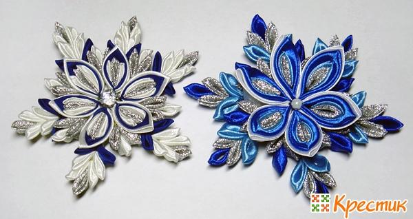 Как делать атласные цветы своими руками