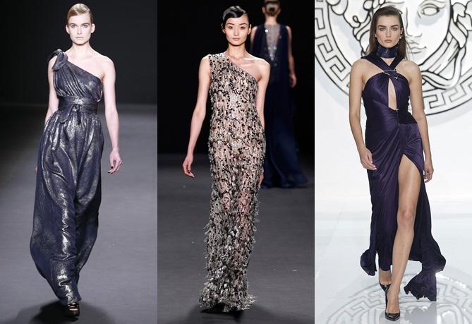 Греческие платья для Нового года 2014