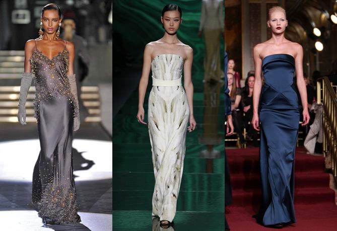 Новогодние длинные облегающие платья