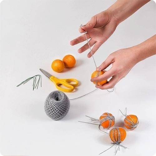 Топиарий из фруктов