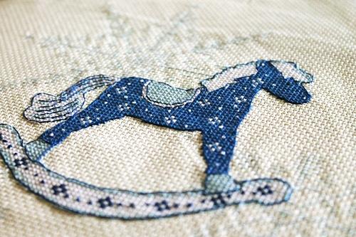Бесплатная схема вышивки крестом Лошадь