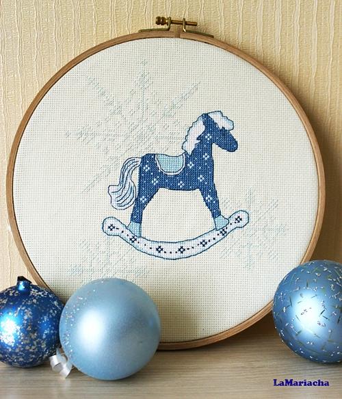 Лошадь схема вышивки крестом